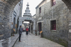 China`s ancient town one scene Stock Photo