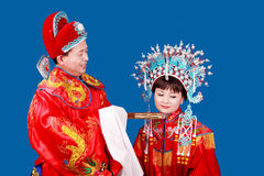 China's ancient wedding. Stock Images