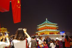 China S Attraction Of Xi  An ShiYiQiTian Holiday Royalty Free Stock Images
