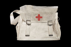 China's barefoot doctor medical bag Royalty Free Stock Photography
