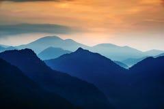 China`s beautiful sunrise. On mount tai royalty free stock photos