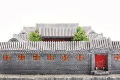 China's courtyard model Royalty Free Stock Photography