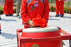 China's drum Royalty Free Stock Photography