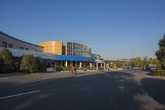 Nanjing jiangning expressway service area Royalty Free Stock Image