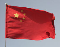 China's flag Royalty Free Stock Photos