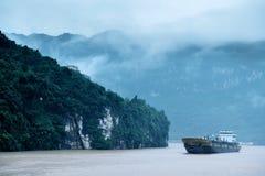 China& x27; s grootste rivieren: Yangtze stock foto