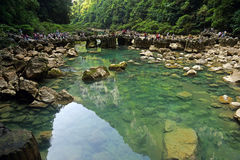 China's guizhou province seven major scenic spots Royalty Free Stock Photos