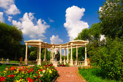 The Sculpture of garden Stock Photography