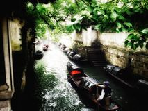 China's jiangnan. Wuzhen is a typical picturesque Chinese Jiangnan (south of the Yangtze River) town Stock Images
