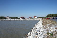 China-` s Jixi Stadt, Heilongjiang-Provinzstimmung Kai Lake Stockfotos