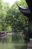 Traditional Chinese courtyard layout, like landscape painting Royalty Free Stock Photo