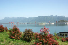 Three Gorges Dam1 Royalty Free Stock Photos