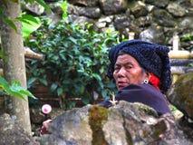 China's last primitive tribes - Wa Stock Photo