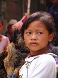 China's last primitive tribes - Wa Royalty Free Stock Image