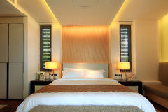China's luxury hotel rooms,. China hotel rooms,The hotel environment royalty free stock photography