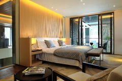 China's luxury hotel rooms,. China hotel rooms,The hotel environment Royalty Free Stock Images