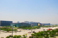 China's Olympic sports center. Stock Photo