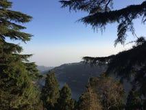 From china's peek. Nainital, Uttarakhand, india Royalty Free Stock Photos