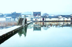 China's Qing Dynasty houses Stock Photos