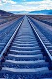 China's qinghai-tibet plateau railway. Railway skyline - the qinghai-tibet plateau, China Stock Photo