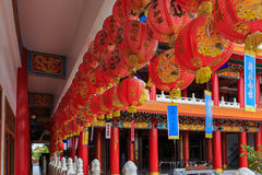 China's red lamp. Many china's red lamp is very beautiful royalty free stock images