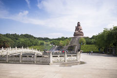 China's religious statues Royalty Free Stock Photo