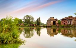 China`s remote rural areas Stock Image