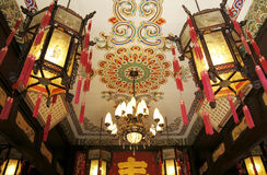 China's royal building decoration Stock Image