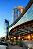 China's star hotel external landscape. Resort hotel,accommodation,tourism Royalty Free Stock Photos