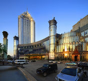 China's star hotel external landscape. Resort hotel,accommodation,tourism Stock Photography