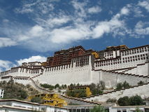 China's Tibet potala palace Stock Photography