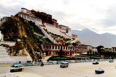 China`s Tibet, The potala palace stock photo