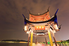 China's traditional architecture pavilion Royalty Free Stock Photography