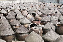 China's traditional Soy sauce factory Royalty Free Stock Photography