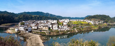 China's villages (Wuyuan County) Stock Image