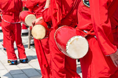 China's waist drum Royalty Free Stock Photos