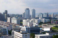China's Zhejiang City Panorama Stock Photography