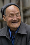 China `s Zhejiang Songyang Ming and Qing streets of the elderly Royalty Free Stock Photo