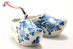 China sabo shoes. Isolated on white background Royalty Free Stock Image