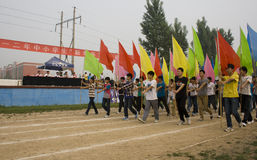 China:School Games opening ceremony stock photos