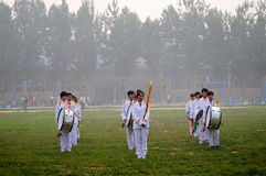 China:School Games opening ceremony stock images