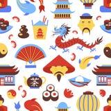 China seamless pattern Stock Photo