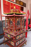 China sedan chair Stock Images