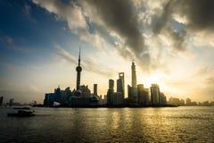 China Shangai Lujiazui fotografía de archivo libre de regalías