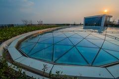 China Shanghai Aegean Shopping Park Stock Photos