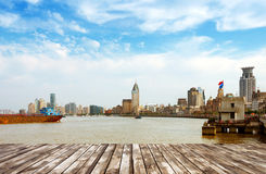 China Shanghai the Bund Royalty Free Stock Photography