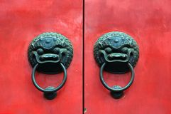 China, Shanghai: Confucius temple Stock Photography