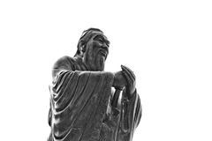 China, Shanghai: Confucius temple; sculpture Royalty Free Stock Images