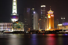 China Shanghai - de toren van de Parel stock fotografie