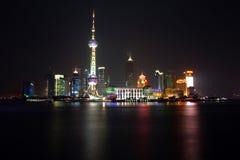 China Shanghai - de torenmening 1 van de Parel stock foto